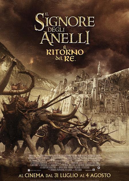 IL SIGNORE DEGLI ANELLI: IL RITORNO DEL RE - THEATRICAL VERSION 4K (THE LORD OF THE RINGS: THE RETUR