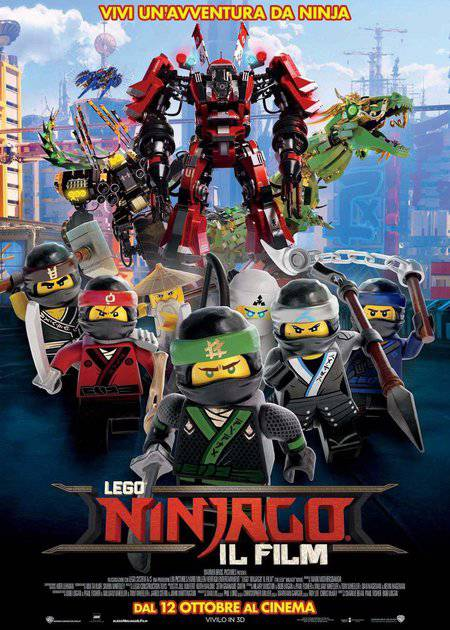 LEGO NINJAGO - IL FILM (THE LEGO NINJAGO MOVIE)