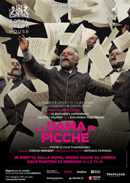 ROYAL OPERA HOUSE - LA DAMA DI PICCHE