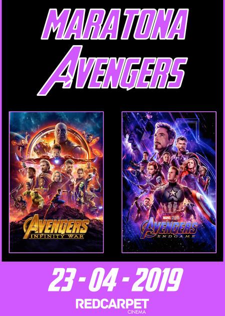 Maratona Avengers: Endgame