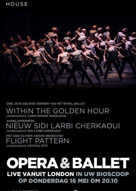 ROYAL OPERA BALLET - WITHIN THE GOLDEN HOUR - NEW SIDI LABI CHERKAOUI - FLIGHT PATTERN
