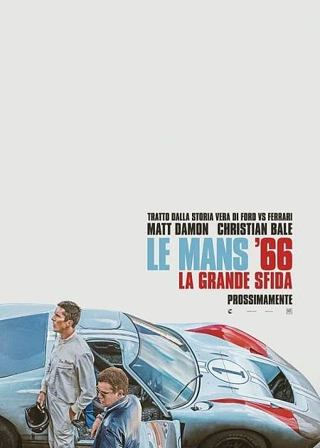 LE MANS '66 - LA GRANDE SFIDA (FORD V. FERRARI)