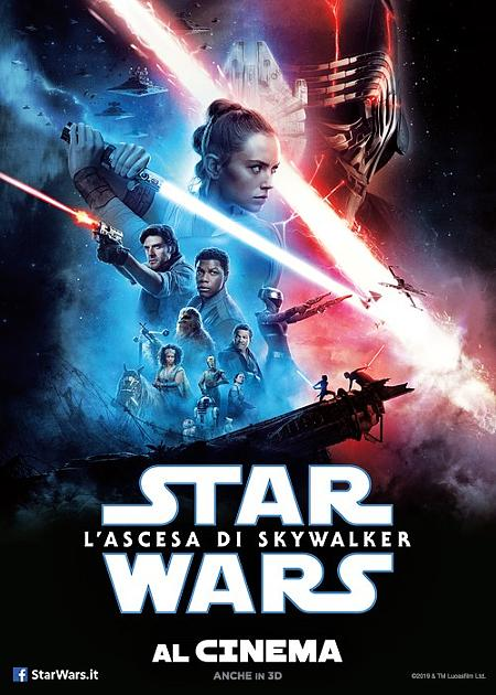STAR WARS: LASCESA DI SKYWALKER - 3D (STAR WARS: THE RISE OF SKYWALKER)