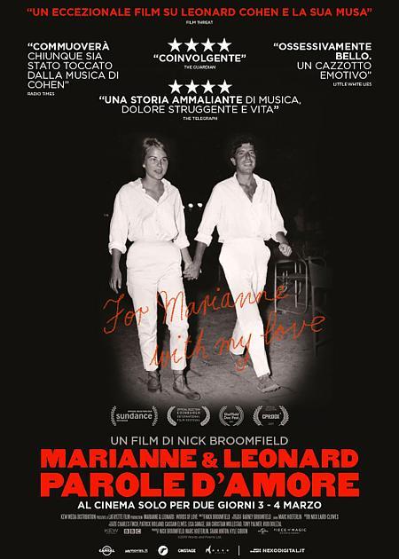 MARIANNE & LEONARD - PAROLE D'AMORE