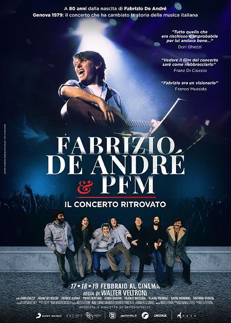 FABRIZIO DE ANDRE E PFM - IL CONCERTO RITROVATO