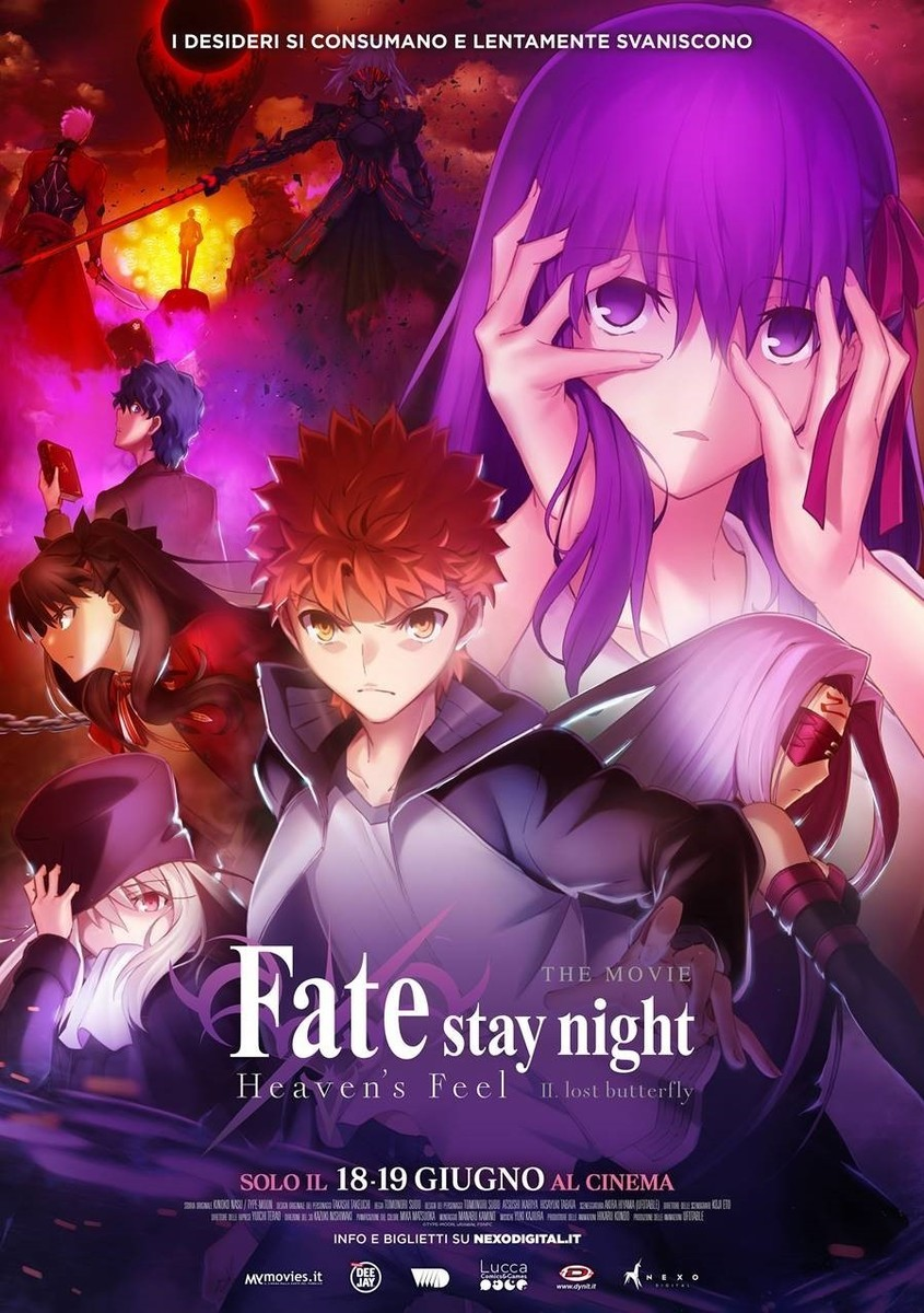 Fate/Stay Night Heaven's Feel II - Lost Butterfly
